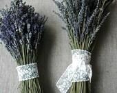 Custom Brides Bouquet A Double Bouquet of English Lavender