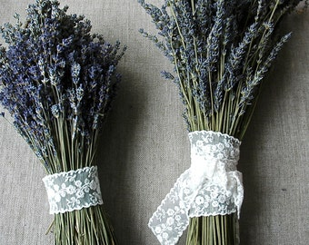 Custom Brides Bouquet A Double Bouquet of French or English Lavender