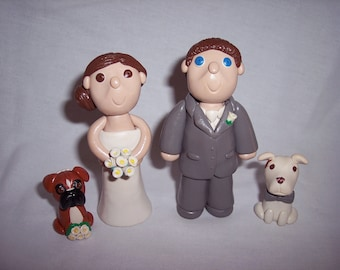 People Wedding Cake Toppers