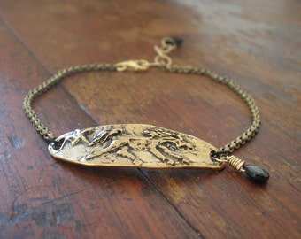 Horse Bracelet|Western Style|Cowgirl Chic|Rustic Jewelry|Be Free Quote|Running Stallion|Christmas Gift Girlfriend|Horse Lover|Equestrian