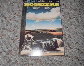 Hoosiers Original VHS Cover Notepad