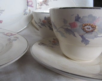 Vintage Tea For Two, Platinum Gold, Century By Salem