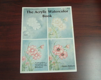 The acrylic watercolor book by Helen Roberts