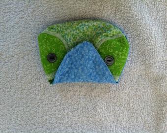 Owl-Green & Blue (Owl 1)