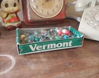 Vermont License Plate Box - Rustic Storage Box - Planter - FREE SHIPPING - Repurposed Box - Gift Box - Upcycled Box - Tray - Box - Box Box