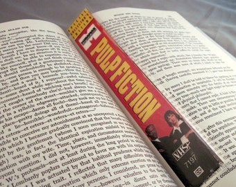 Pulp Fiction Bookmark - Recycled