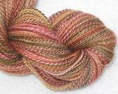 Handspun Yarn - Silk, Polwarth Wool, BFL Wool