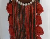 Red Tribal Bellydance Belt