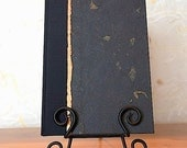 Journal Lined or Blank  - Black Mango and Copper - Great for Journal, Diary, Travel Journal, Health Journal and Gift