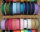 "NEW COLORS--2"" Solid Grosgrain RIbbon--5 yards--You Choose Colors--42 Colors to Choose From"