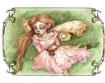 Emma, Greeting Card by Renae Taylor