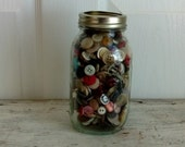 buttons in a Ball jar
