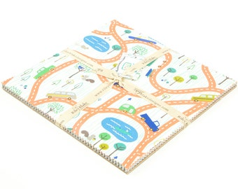 SALE 10 inch squares Stackers SCENIC ROUTE fabric by Riley Blake