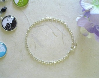 Silver Plated Bracelet for Charms - Bracelet Only