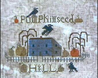 cross stitch pattern from Notforgotten Farm - PUMPKINSEED HILL