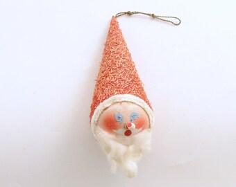 Vintage Christmas Ornament Santa Claus