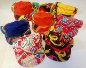 Vintage New Old 1980's/1990's Fresh Prince, Keith Haring-esc Snap Backs - Deadstock Abstract Flat Bill Baseball Hats