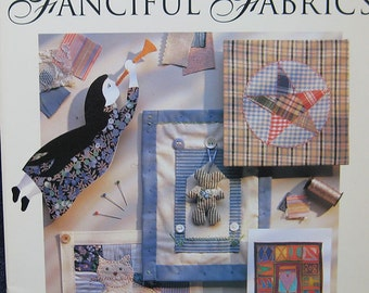 Fanciful Fabric Greeting Card Pattern Book