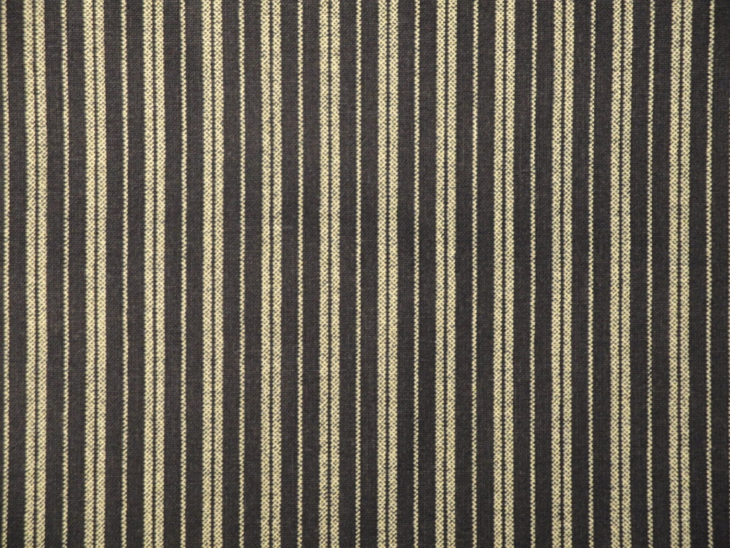 Ticking stripe material ticking fabric by kittredgemercantile for Ticking fabric