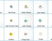 4pcs x Square 10x10mm Swarovski® Crystals 4470 (S447010SQ)