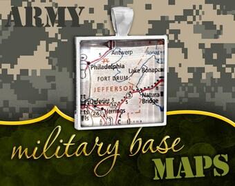 U.S. Army Pendant: Fort Drum