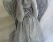 Reserved for Star Buzz 13 inch Weeping Angel Tree Topper