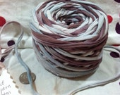 Earth and Sky - recycled super bulky T shirt yarn all cotton 54 yards