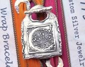 Personalized Jewelry Gift for Women, Silk Wrap Bracelet, Personalized Gift for Her, Personalized Bracelet Gift, Unique Jewelry Gift for Her