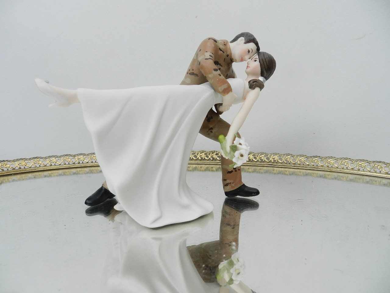 Army Sol R Wedding Cake Toppers