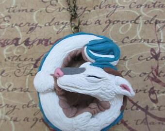 Haku - Spirited Away Dragon necklace