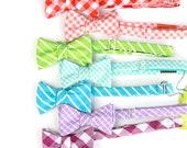 ON SALE rainbow bow tie set