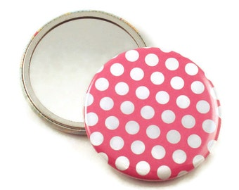 Pocket Mirror Cosmetic Mirror in Pinkie    (PM53)