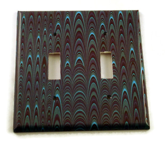 Decorative Wall Light Covers : Double light switch cover wall decor switchplate plate