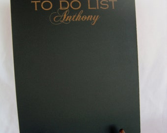 Personalized To Do List Chalkboard  - Item E1507