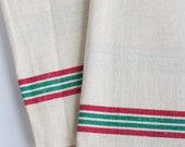 Vintage French Tea Towel