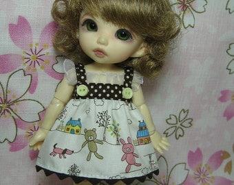 Bear Dress for Pukifee / Lati Yellow