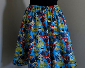 Comic Book Superhero, Female Super Hero Skirt