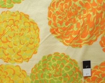 Valori Wells FVW21 Della Pom Pom Citrus Cotton FLANNEL Fabric 1 Yard
