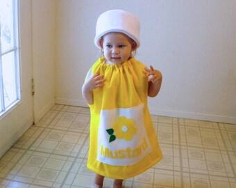 Baby Mustard Costume Halloween Costume Infant Toddler Newborn Twin Set Couple Group