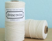 Solid Natural Divine Bakers Twine - 240 yards (720 feet) - Divine Twine