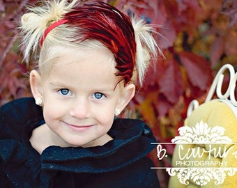 Christmas Headbands, Baby Feather Headbands, Red Headbands Baby Girl Bows And Headbands, Newborn Headbands Baby Girl, Headbands Photo Prop