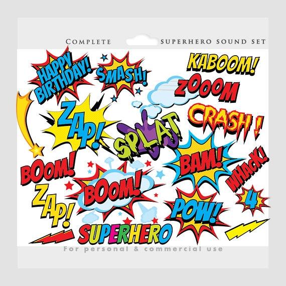 Superhero Clipart Comic Book Clip Art Super Heroes