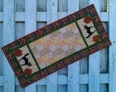 Quilted Table Runner - Black Cat (HTRE)