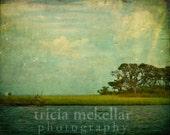 Landscape Photograph, Dream of Water and Sky. Fine Art Landscape Photograph by Tricia McKellar. No. 6527