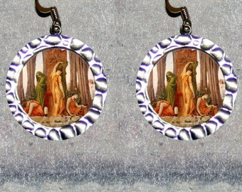 ELECTRA Greek myth Earrings