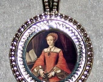 Princess Tudor ELIZABETH I Pendant