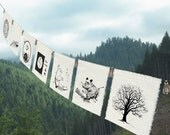7 prayers for the Earth-Prayer Flags-Home & Living-Bunting-Tree-Bear-Doves-Earth-Lotus-Sea Turtle-Wave-Crane-Poems for the Earth-Garden Art