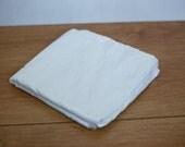 Destash - White Dupioni Silk