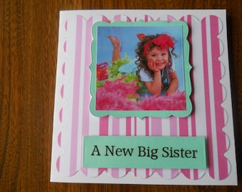 new big sister card  the older child needs to feel special too