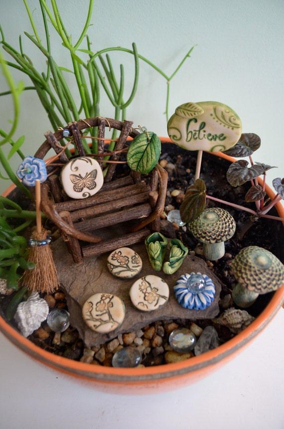 fairy garden kit cinnamon blossom gift set 11 items